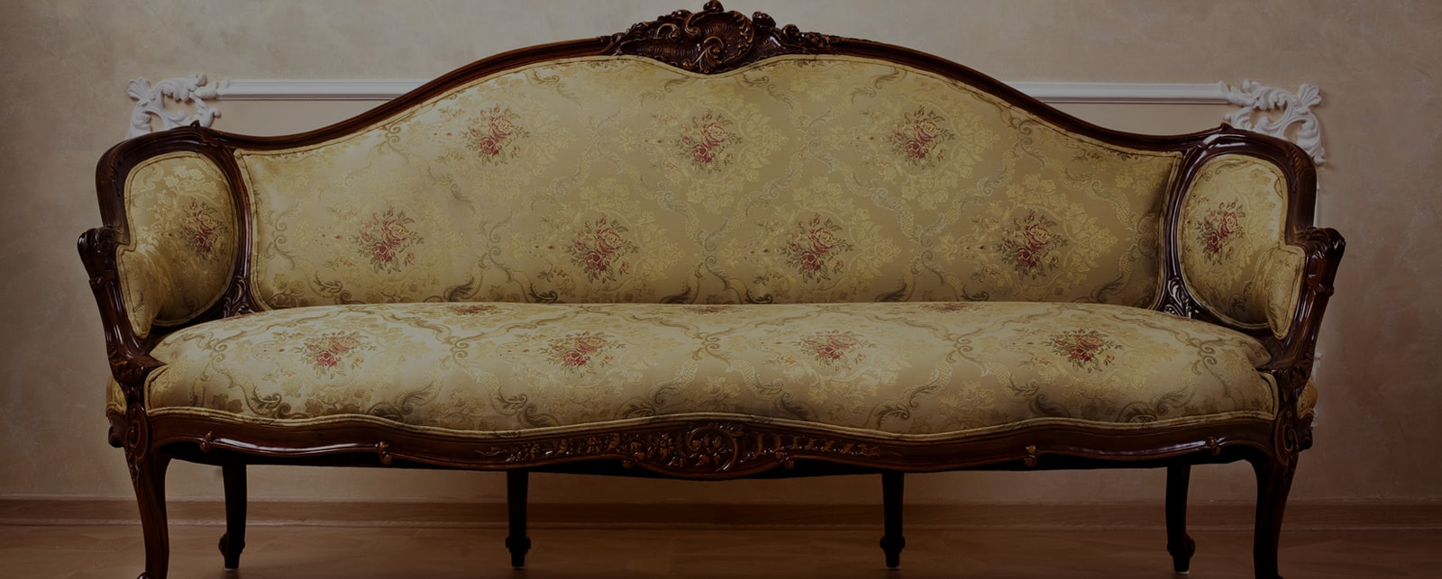 antique sofa loveseat