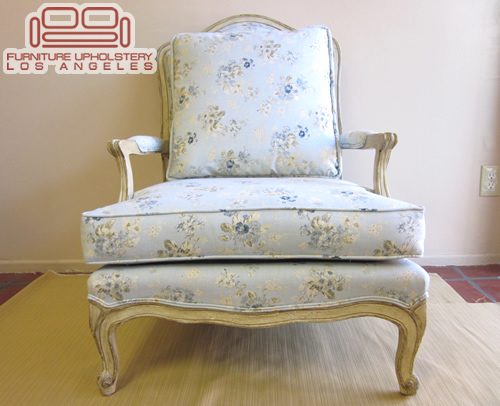 Berger Chair Upholstered and Refinish