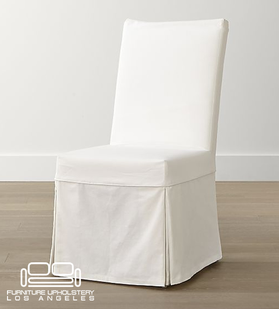 chair custom slipcover los angeles