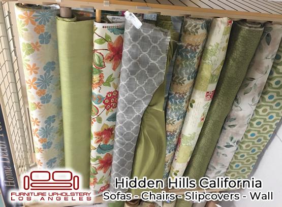 hidden hills upholstery service