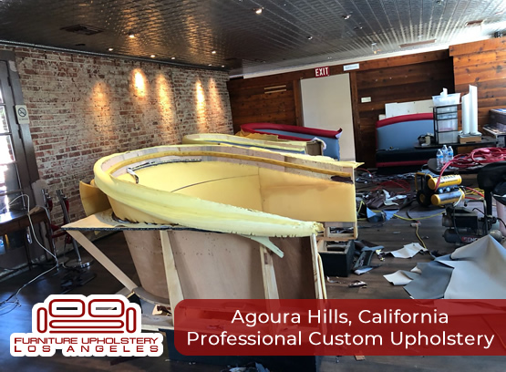 professional upholstery in agoura hills california