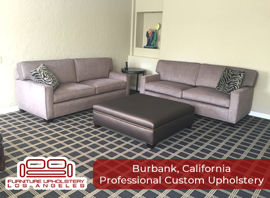 professional upholstery in burbank california