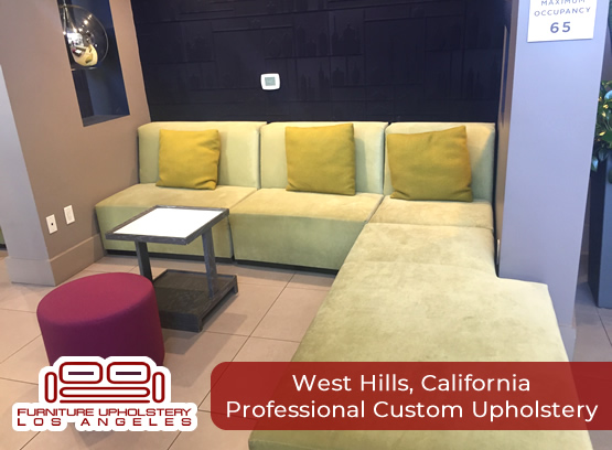 professional upholstery in west hills california