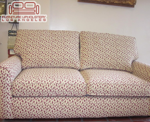 Round Arm Sofa Los Angeles