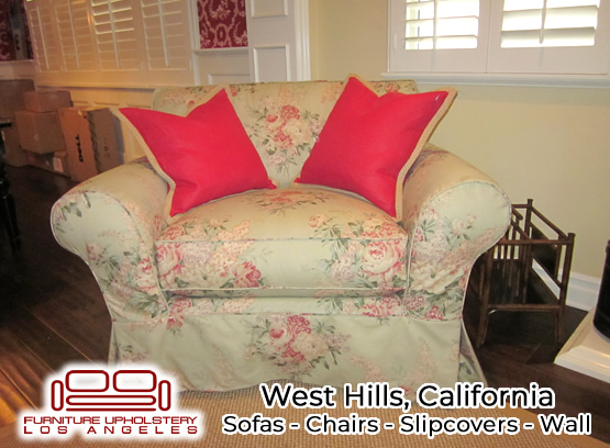 west hills upholstery service